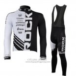 2010 Jersey Rock Racing Long Sleeve Black And White