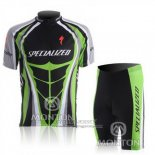 2010 Jersey Specialized Green And Black