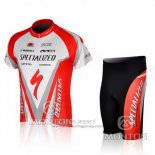 2010 Jersey Specialized Red And White