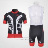 2011 Jersey Giordana Black And Red