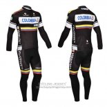 2013 Jersey Nalini Long Sleeve Black And White