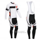 2013 Jersey Pinarello Long Sleeve Black And White