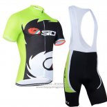 2014 Jersey Castelli SIDI Black And Green