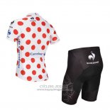 2014 Jersey Tour de France White And Red-3