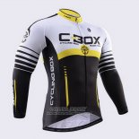2015 Jersey Fox CyclingBox Long Sleeve Black And White