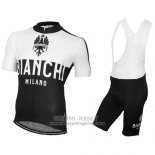 2016 Jersey Bianchi Black And White