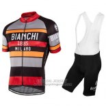 2016 Jersey Bianchi Red And Orange