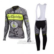 2016 Jersey Tinkoff Long Sleeve Gray