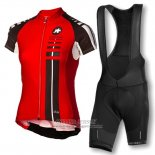 2016 Jersey Women Assos Black And Red
