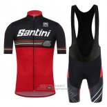 2017 Jersey Santini Beat Red And Black