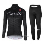 2017 Jersey Women Castelli Long Sleeve Black