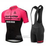 2018 Jersey Cervelo Pink and Black