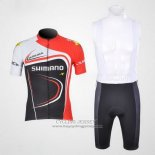 2011 Jersey Shimano Red And Black