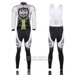 2013 Jersey Rock Racing Long Sleeve Black And Green