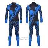 2014 Jersey Fox CyclingBox Long Sleeve Black And Blue