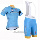 2015 Jersey Astana Light Blue