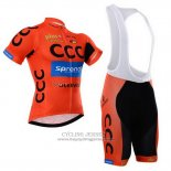 2015 Jersey CCC Black And Orange