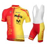 2016 Jersey Spain Yellow And Red