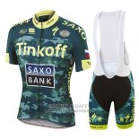2016 Jersey Tinkoff Saxo Bank Yellow And Green