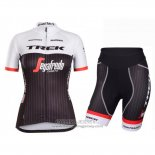 2016 Jersey Women Trek Black And Red