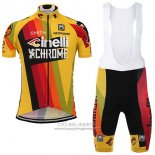 2017 Jersey Cinelli Chrome Yellow