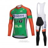 2018 Jersey Bardiani Csf Long Sleeve Green