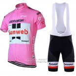 2018 Jersey Sunweb Pink and White