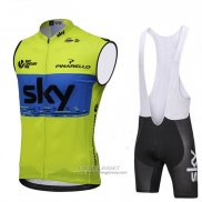 2018 Wind Vest Sky Green and Blue