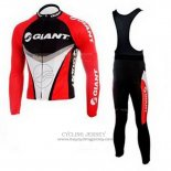 2010 Jersey Giant Long Sleeve Black And Red