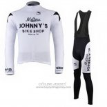 2010 Jersey Johnnys Long Sleeve Black And White