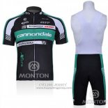 2011 Jersey Cannondale Black And Vede Militare