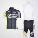 2011 Jersey Liquigas Cannondale Black And Green