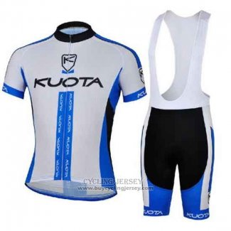 2013 Jersey Kuota White And Sky Blue