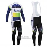2013 Jersey Orica GreenEDGE Long Sleeve Blue