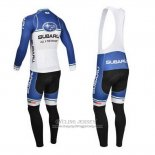 2013 Jersey Subaru Long Sleeve Blue And White