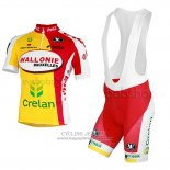 2013 Jersey Wallonie Bruxelles Yellow And Red