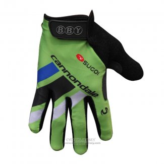 2014 Cannondale Full Finger Gloves Green