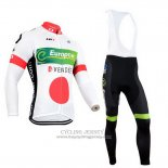 2014 Jersey Europcar Champion Giappone Long Sleeve