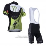 2014 Jersey Specialized Black And Green