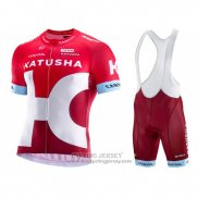 2016 Jersey Katusha Alpecin White And Red