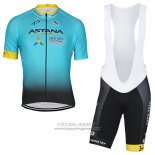 2017 Jersey Astana Light Blue