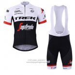 2017 Jersey Trek Segafredo Black And White