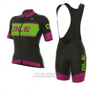 2017 Jersey Women ALE R-EV1 Master Black And Pink