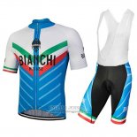 2018 Jersey Bianchi Tiera White and Blue