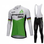 2018 Jersey UCI Mondo Champion Dimension Date Long Sleeve Green