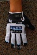 Saxo Bank Tinkoff Full Finger Gloves White
