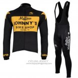 2010 Jersey Johnnys Long Sleeve Black And Yellow