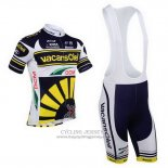 2013 Jersey Vacansoleil Yellow And Black