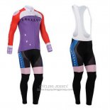 2014 Jersey Fox CyclingBox Long Sleeve Red And Purple