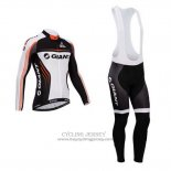 2014 Jersey Giant Long Sleeve White And Black